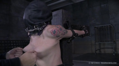 Bondage, spanking, strappado and torture for hot girl part 1