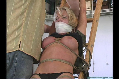 Mandy K Shown MORE Restraint part 2 – Extreme, Bondage, Caning
