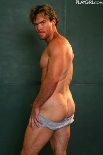 Playgirl - Str8 porn star Justin Magnum
