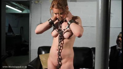 Tight bondage and domination for sexy naked slavegirl part 1 HD 1080p