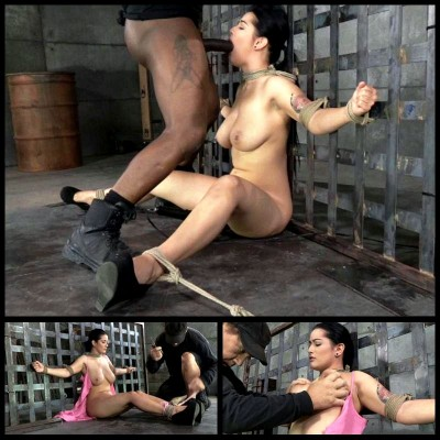 First Bondage & Deepthroat (12 May 2014) Sexually Broken