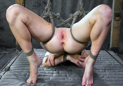 Presenting Veruca James- Rope bondage and submission