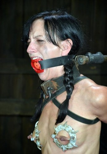Best of torture for a beautiful brunette