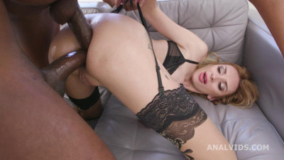 Nasty Anal Anita Blanche Assfucked With DAP & Anal Fisting