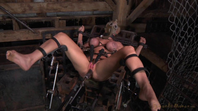 Barn Sluts Restrained In Strict Bondage