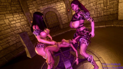 Description Giantess Threesome