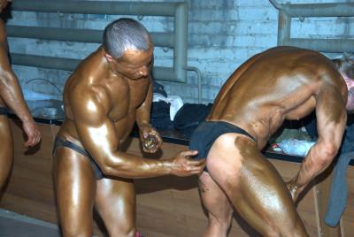 Backstage Bodybuilding Pictures