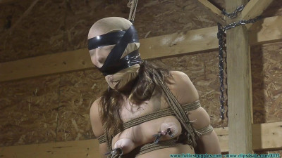 Rachel Rides the Pony After being Crotch Chained 4 part - BDSM,Humiliation,Torture HD 720p