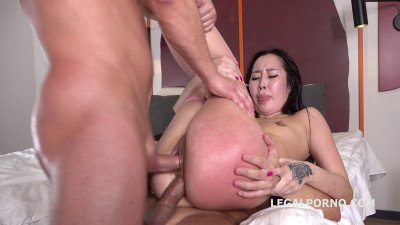 Liloo First DP with Rough Sex