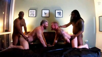 Description Hot 4some Mr Bolden, Fedz, Cain Marko & Jack Vidra 720p