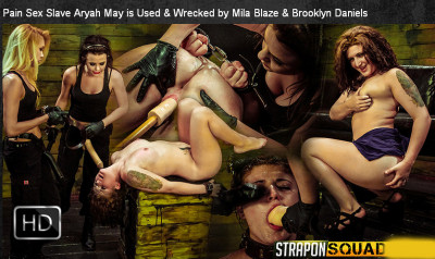 SexualDisgrace – May 23, 2014 – Pain Sex Slave Aryah May Is Used & Wrecked