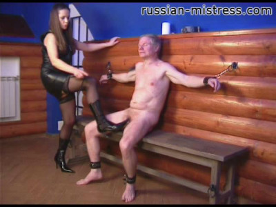Russian Mistress and Female Domination part 1