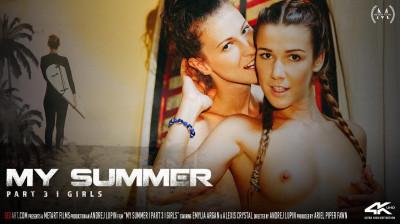 Description Candice Demellza & Emylia Argan - My Summer Pt. 3 - Girls
