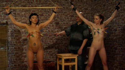 Casting slave brunette girls (2014)