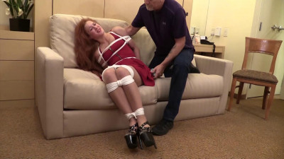 Cheyenne Jewel-I found myself tied up with panties taped in my mouth!