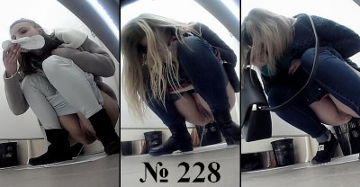 Hidden Camera In The Women's Toilet - Part 228