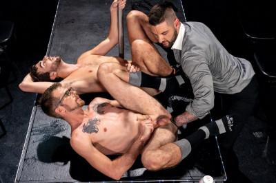 CInferno - Fisting Theater, Scene 1 - Teddy Bryce, Noah Scott & Alex Killian