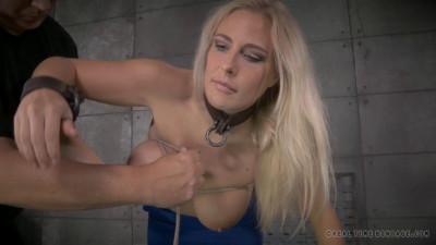 Big titted blonde Angel Allwood