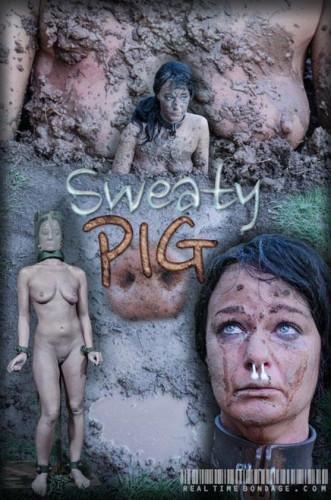 Description RTimeBondage - London River - Sweaty Pig Part 2