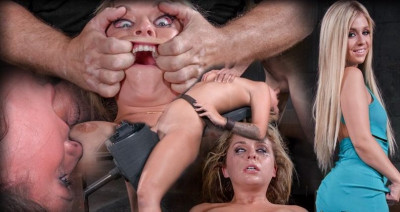 Sexy Blonde Madelyn Monroe Bound On A Sybain And Utterly Destroyed By Dick