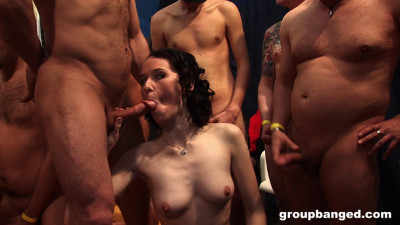 These Babes Know How To Handle A Gang Bang