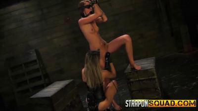 StrapOnSquad Kendra Cole And Marina Angel's