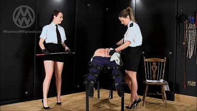 Mistress Whiplash - 100 Stroke Judicial Caning Part 1