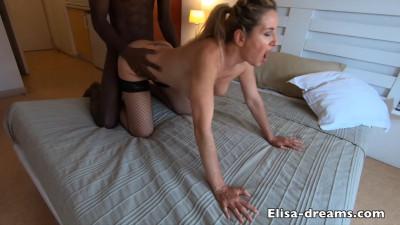 BBC Fucks My Ass In a Hotelroom — Elisa Dreams — Full HD 1080p