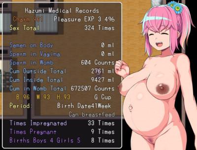 Description Hazumi and the Pregnation Sex Simulator