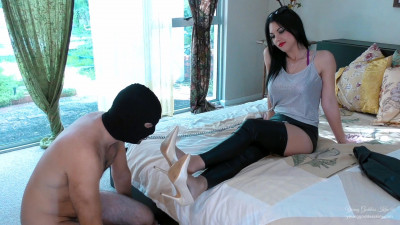 Young Goddess Kim Fetish Slave Part Four