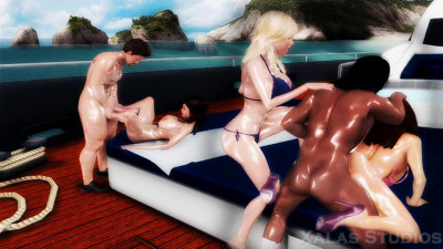 Orgy Yacht Party