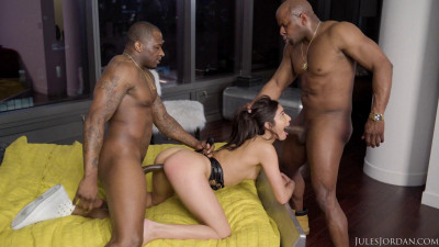 Description Interracial, She Takes Two Guys On A Wild Ride!1080p