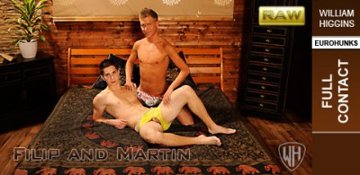 WHiggins - Filip and Martin - Screen Test Raw - Full Contact - 10-11-2012