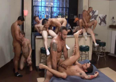 Raw Gangbang With Anal Predators