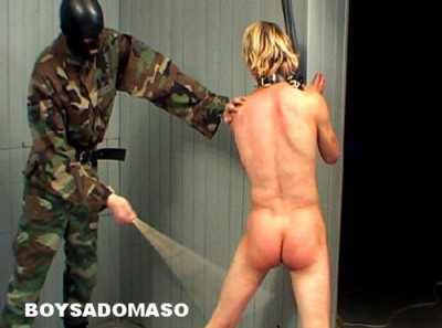 BoySM: Hard Military Boy Caning & paddling 3 Scenes