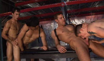 Hard Fuck & Group Sex With Master-Slaves