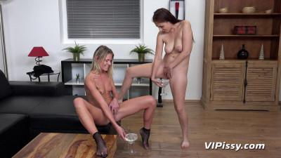 Antonia Sainz and Claudia Macc Back Door Bandit