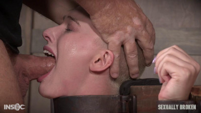 Description Brutally pounded, leaving her a drooling dripping, gasping mess!