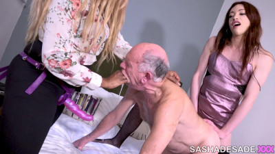 Visiting A Married Couple – TS Sasha de Sade and Ava Black – Full HD 1080p