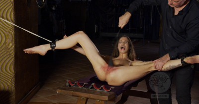 Strong Chick Punished Hard