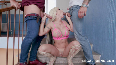 Barbie Sins Receives DAP and Creampie From Angelo Godshack and Neeo