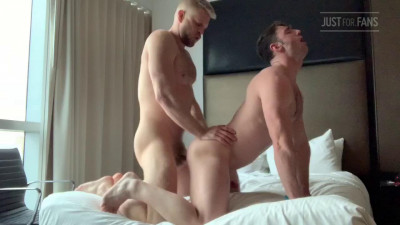 Just For Fans – Logan Stevens and Michael Boston Flip Fuck