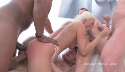 Description 10 man anal gangbang for Blanche Bradburry