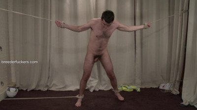 Alex – Taken From A Building Site,Tied,Clothes Shredded,Flogged