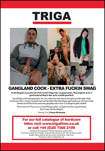 Gangland Cock Extra Fuckin Swag (big dick, big fat, anal sex).
