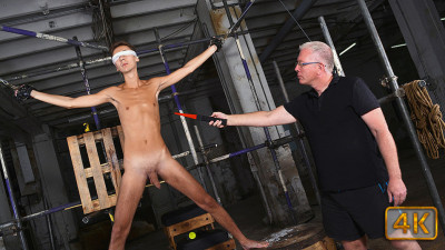 BoyNapped - A Slim & Hung New Twink Arrival Part 1
