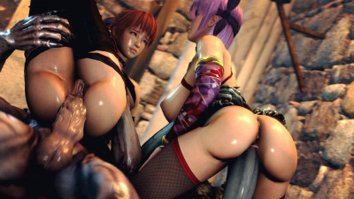 Kasumi the Slave of Hell – Vol. 4 – Scene 1 – Kasumi and Ayane – Full HD 1080p