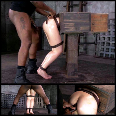 Bound In A Wooden Box (22 Oct 2014) Sexually Broken