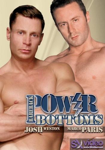 Bareback Power Bottoms - Josh Weston, Marco Paris, Rod Rockhard