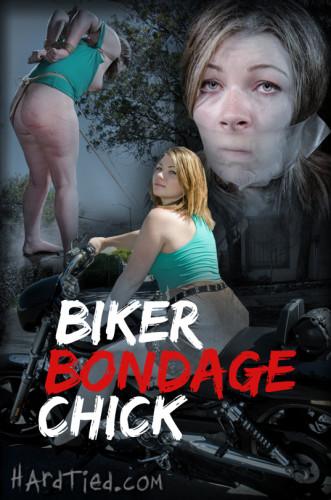 HardTied Harley Ace Biker Bondage Chick.